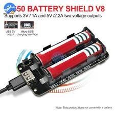 Mobile Power Bank USB 18650 Battery Shield V8 3V 5V for Arduino ESP32 ESP8266
