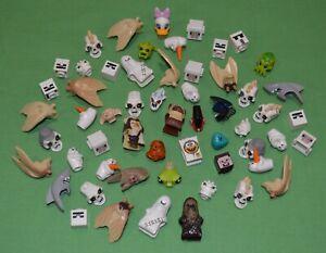 BULK LEGO MINIFIG HEADGEAR Lot of 57 MINIFIGURE Hats HELMETS Heads Auct: 7 of 7