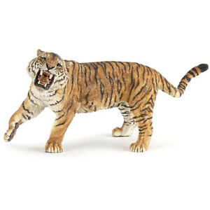 Papo Wild Animal Kingdom Roaring Tiger Figure 50182 NEW