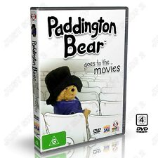 Paddington Bear Goes To The Movies : Animation / Cartoon : New DVD (Very Rare)