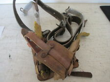 W.M. Bashlin Co. Pole Climbing Spikes & Safety/Tool Belt