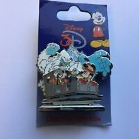 WDW - 3D Attractions - Expedition Everest - Fab 3 - Diorama LE Disney Pin 53574
