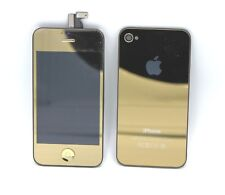 iPhone 4S Replacement LCD Screen Assembly & Back - Gold