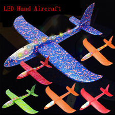Foam Airplane Toys Aircraft Glider Hand Throwing Model Planes Flying Aeroplane