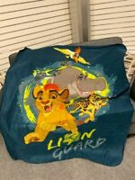 Lion Guard King Lions Prince Kion Simba Fleece Throw Blanket Disney Jr NEW
