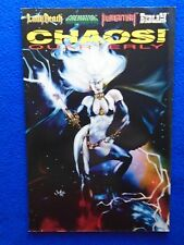 ~~ CHAOS QUARTERLY #1 1995 ~ LADY DEATH ~ 1ST PRINT ~~