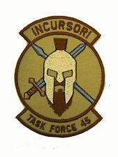 Patch Incursori Task Force 45 Missione Afghanistan GIS GOI NONO 17°Stormo Desert