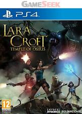LARA CROFT AND THE TEMPLE OF OSIRIS - PLAYSTATION PS4 BRAND NEW FREE DELIVERY