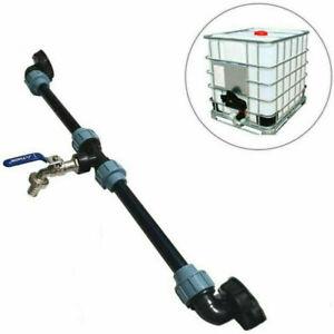 IBC Adapter Verbindungsset für zwei IBC Regenwassertanks Nebeneinander