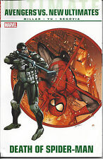 Ultimate Avengers vs. New Ultimates Death of Spider-Man TPB (2012  OOP SEALED NM