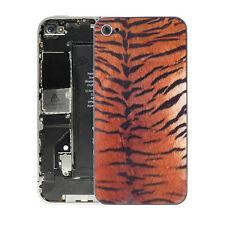iPhone 4 Glas Backcover Tiger Rückschale  Akku Deckel Schale Rückseite Gehäuse