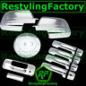 07-13 TOYOTA TUNDRA CREWMAX Mirror+Chrome 4 Door Handle+Tailgate w/KH+GAS Cover