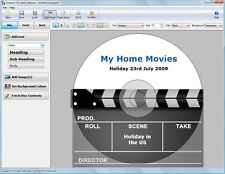 Disketch Pro CD DVD Disc Label Software NCH