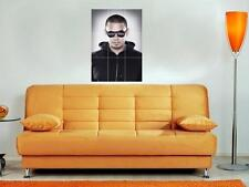 """AFROJACK 35""""X25"""" INCH MOSAIC WALL POSTER ELECTRO HOUSE"""