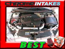 K&N+BLACK RED 07 08 09/2007 2008 2009 SATURN AURA 3.6L V6 FULL AIR INTAKE KIT