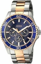 U0172G3 - New Guess Two Tone Stainless Steel Multifunction Men' s Latest Watch