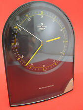 original Junghans MEGA Uhr Tischuhr Funkuhr Radio Controlled Table Clock RARE