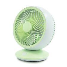ecHome USB Mini Desk Table Fan Silent Portable Cooling Fan 3 Speed Blue