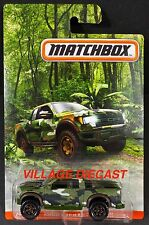 2017 Matchbox Camo Ford F-150 Svt Raptor Green Camo/Moc