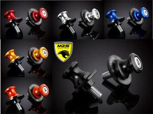 6mm Swingarm Sliders Spools For Yamaha FJ1200 FJR1300 FJ09 FZ07 FZ09 MT07 MT09
