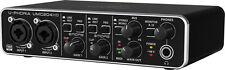 BEHRINGER UMC204 HD Scheda audio a 24-bit / 192kHz midi/usb MIDAS