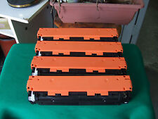 125A Set CB540A CB541A CB542A CB543A Toner Cartridge for HP CP1215 CP1515 CP1518