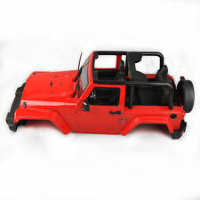 270mm Hard Body Shell Canopy For RC 1/10 SCX10/D90 Rock CRAWLER Jeep Wrangler