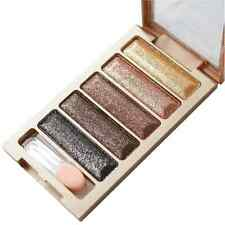Hot Sale 5 Color Glitter Eyeshadow Makeup Eye Shadow Palette Xmas