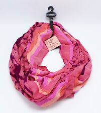 New Theodora & Callum Pink Infinity Loop Scarf with $38 Tags #TC061500PINK