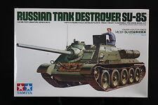 XE084 TAMIYA1/35 maquette tank 35072 1000 072 Russian tank destoyer SU-85