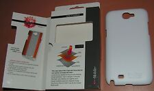 Tech21 snap case for Samsung Galaxy Note II, Matte White Hard Plastic