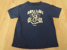 "Youth Toronto Maple Leafs L (7) T-Shirt Tee ""Goalie in Training"" Reebok (Royal B"