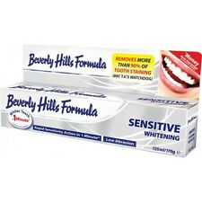 24x 125ml 170g Beverly Hills Sensitive Whitening Toothpaste EXTRA LARGE 170g