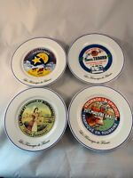 Les Fromages de France Kiss That Frog Cheese Plates Set of 4. 8""