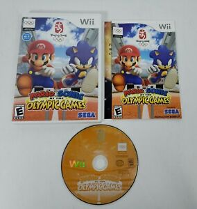 Mario & Sonic At The Olympic Games (Nintendo Wii, 2007) CIB Complete w/Manual