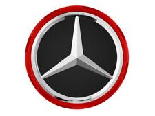 Original Mercedes AMG Nabendeckel im Zentralverschlussdesign rot A00040009003594