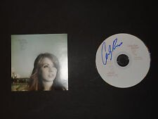 CARLY RAE JEPSEN SIGNED AUTOGRAPHED DEBUT CD TUG OF WAR CALL ME MAYBE RARE
