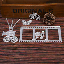 DIY Camera Dies Metal Cutting Stencil For Scrapbooking Paper Cards Gift Decor