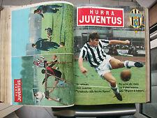 HURRA' JUVENTUS=VOLUME CON 20 RIVISTE ANNI 1966+1968+1969=COMPLETE DI COPERTINE