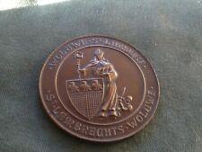 ancienne médaille -jeton - woluwe st lambert