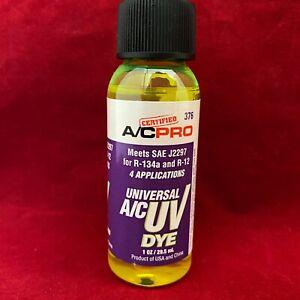 A/C Pro Auto Air Conditioner R-134a R-12 System UV Dye Tint Leak Detector