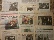 Pedro Almodóvar colección prensa 1999-2002 Todo sobre mi madre Hable con ella