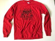 Vintage Mental Hardcore/Punk Band Long Sleeve Shirt Boston ~ Men's Medium