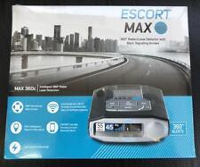 ESCORT MAX 360C RADAR/LASER/CAMERA DETECTOR w/ WIFI/BLUETOOTH/GPS Color OLED NEW