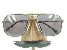 Vintage Mocha Rem Quasar Carbon 55118 Brown Metal Aviator Sunglasses Frames