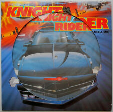 """★★12""""DE**LASER-COWBOYS -THEME FROM KNIGHT RIDER (MEGA MIX) (PICTURE-DISC)★★23518"""