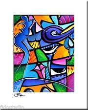 TAKE ME HOME - Original Abstract Painting Modern Art Print decor by Fidostudio