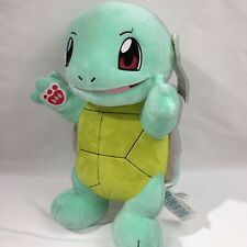 "Pokemon Squirtle Plush With Sound Build a Bear Workshop Size 14"" Stuffed Animal"