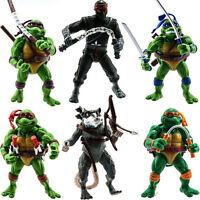 Movie Teenage Mutant Ninja Turtles TMNT PVC Action Figure Figures Dolls Toys Set