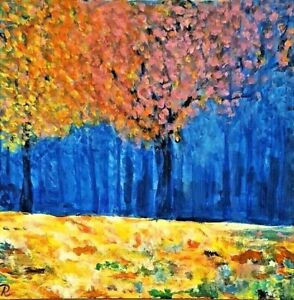 """Mystic Woodland"" Original Painting- De Martino Art"